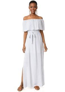 alice + olivia Grazi Off the Shoulder Maxi Dress