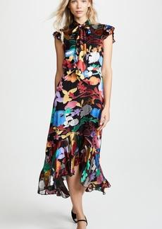 alice + olivia Greta Midi Dress