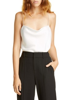 Alice + Olivia Harmon Satin Bodysuit