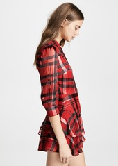 alice + olivia Hazeline Tiered Shirtdress