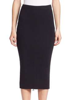 Alice + Olivia Holley Zip Hem Pencil Skirt