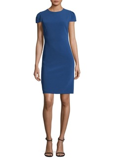 Alice + Olivia Hollis Cap Sleeve Sheath Dress