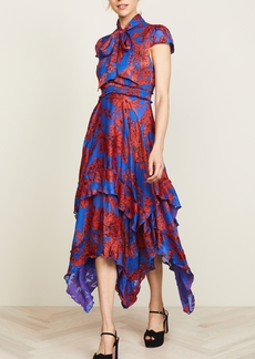 alice + olivia Ilia Ruffle Dress