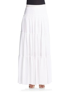 Alice + Olivia Isobel Ruffled Maxi Skirt
