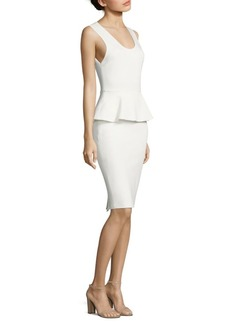 Alice + Olivia Issac Peplum Sheath Dress