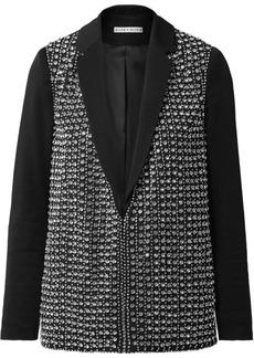 Jace crystal-embellished crepe blazer