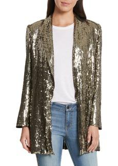 Alice + Olivia Jace Sequin Embellished Blazer