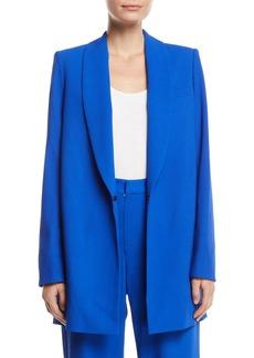 Alice + Olivia Jace Shawl-Collar Oversized Blazer