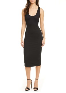 Alice + Olivia James Scoop Neck Body-Con Tank Dress