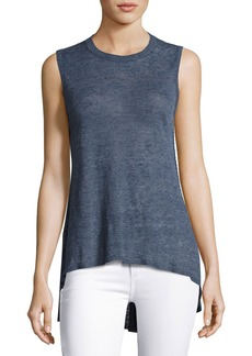 Alice + Olivia Jamika Sleeveless High-Low Sweater
