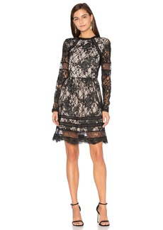 Alice + Olivia Janae Lace Mini Dress