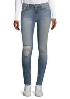 Alice + Olivia Jane Distressed Skinny Jeans