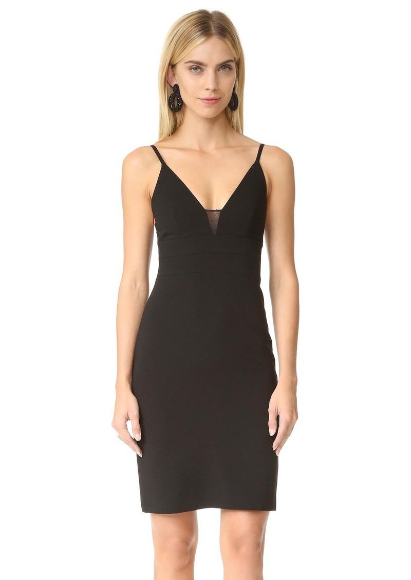 alice + olivia Jean Lace Spaghetti Strap Dress