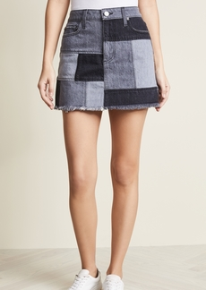ALICE + OLIVIA JEANS Amazing Patchwork Skirt