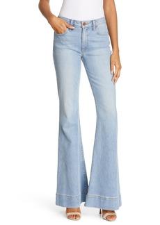 Alice + Olivia Jeans Beautiful Mid-Rise Bell Bottom Jeans (Run Around)