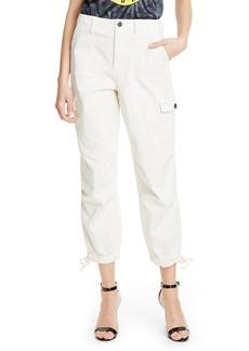 Alice + Olivia Jeans Crop Cargo Pants
