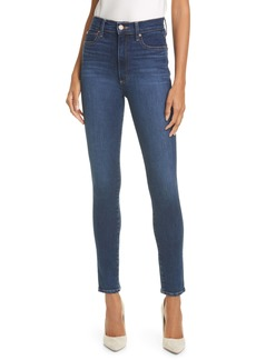 Alice + Olivia Jeans Good High Waist Skinny Jeans (Soho Blues)