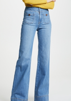 ALICE + OLIVIA JEANS Gorgeous Wide Leg Jeans