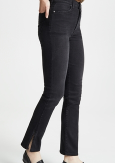 ALICE + OLIVIA JEANS High Rise Baby Boot Jeans