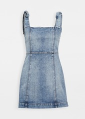 ALICE + OLIVIA JEANS Maryann Tie Shoulder Dress