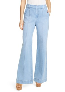 Alice + Olivia Jeans Paula Bell Bottom Jeans (Fade Away)