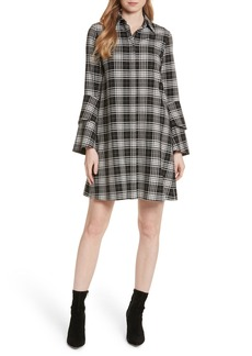 Alice + Olivia Jem Bell Sleeve Shirtdress
