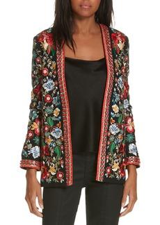 Alice + Olivia Jenice Embellished Jacket
