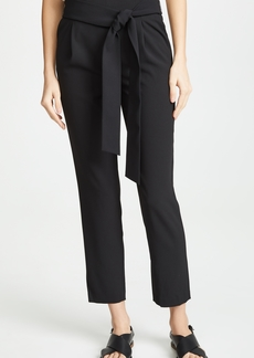 alice + olivia Jessie Pull Up Slim Pants with Belt