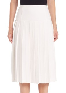 Alice + Olivia Joann Pleated Skirt