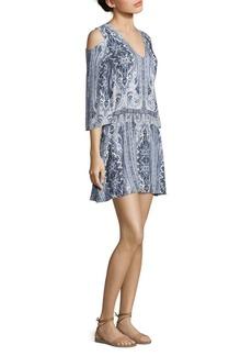 Alice + Olivia Jolene Cold-Shoulder Dress