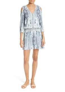 Alice + Olivia Jolene Cold Shoulder Shift Dress