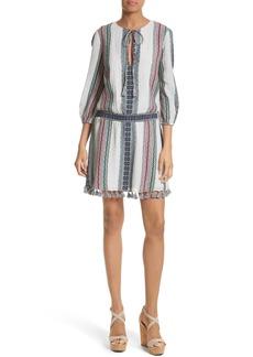 Alice + Olivia Jolene Fit & Flare Dress