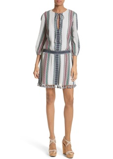 Alice + Olivia Jolene Fit & Flare Dress