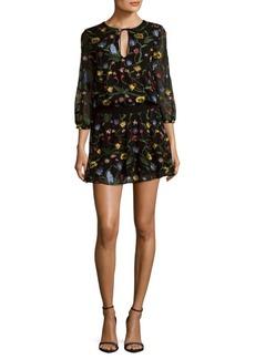 Alice + Olivia Jolene Mini Dress
