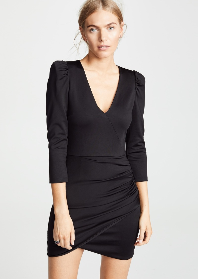 alice + olivia Judy Ruched Dress