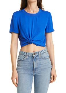 Alice + Olivia Kane Tie Front T-Shirt