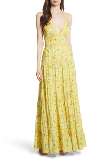 Alice + Olivia Karolina Print Maxi Dress