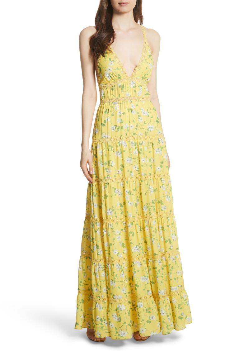 557310ad3800 Alice + Olivia Alice + Olivia Karolina Print Maxi Dress