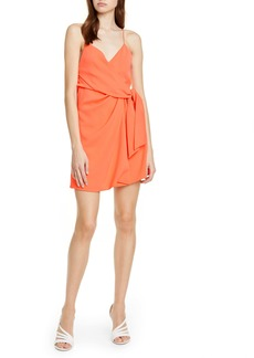 Alice + Olivia Katie Faux Wrap Dress