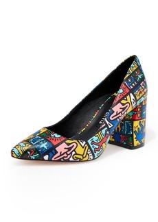 Alice + Olivia Keith Haring x Alice +Olivia Collage Pumps