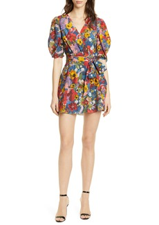 Alice + Olivia Kerri Wrap Dress