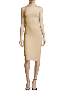 Alice + Olivia Kia Crisscross-Sides Dress