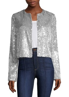 Alice + Olivia Kidman Sequin Jacket