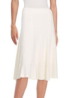 Alice + Olivia Kimi Floral Jacquard Skirt