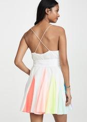 alice + olivia Kimmy Short Godet Dress