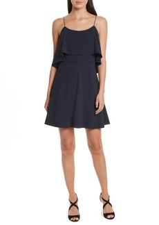 Alice + Olivia Kipp Layered Ruffle Short Dress