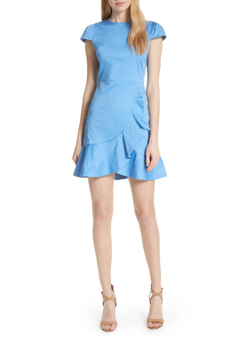 33344954344ca Alice + Olivia Alice + Olivia Kirby Ruffle Faux Wrap Dress Now  176.98