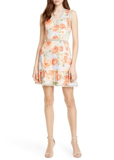 Alice + Olivia Kirean Floral Minidress