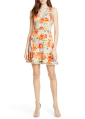 Alice + Olivia Kirean Floral Minidress