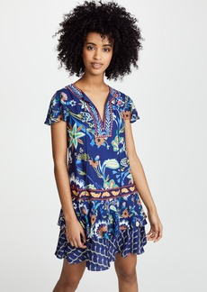 alice + olivia Kora Flare Dress